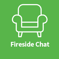 Fireside chat icon